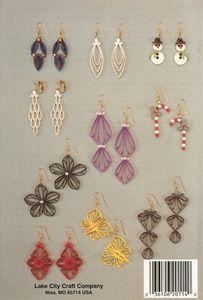 B114 - Filigree Jewelry Quilling Pattern Booklet
