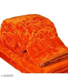 Blankets, Quilts & Dohars Premium Double Mink Bed Blankets Fabric: Mink Dimension: ( W X H ) - 95 in X 87 in   Description: It Has 1 Piece Of Double Bed Blanket Color: Orange Work: Printed Thread Count: 200 Country of Origin: India Sizes Available: Free Size *Proof of Safe Delivery! Click to know on Safety Standards of Delivery Partners- https://ltl.sh/y_nZrAV3  Catalog Rating: ★4 (4180)  Catalog Name: Beautiful Trendy Mink Double Bed Blankets Vol 1 CatalogID_520620 C53-SC1102 Code: 847-3724978-