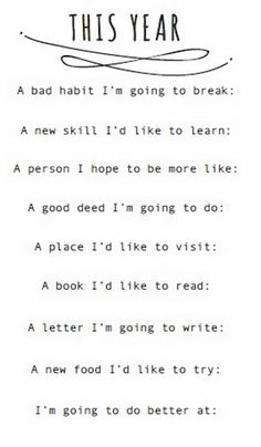 To do in 2014: Changing the letter I want to write to the BOOK I want to write