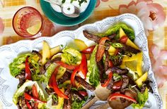 Jamaican beef salad recipe