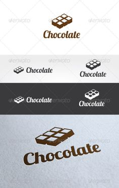 Chocolate Logo Templates  #GraphicRiver         Chocolate Logo Templates is An excellent logo template highly suitable for cake shop, cafe, food, restaurant, coffee shop, candy and bakery shop.   These files onsists of resizable vector format files like AI, EPS , and PDF .   Also PSD format for raster version alternative.   Font that used in this logo is Lobster (free) can download here     Created: 10August12 GraphicsFilesIncluded: PhotoshopPSD #VectorEPS #AIIllustrator Layered: Yes…