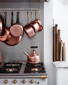 copper kettle for the most beautiful kitchen
