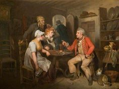 The Old Soldier's Story by Edward Bird. Date painted: 1808