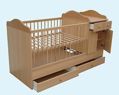 4in1-LUXURY-Baby-Cot-Bed-UNIT-with-CHANGING-TABLE-and-CUPBOARD-HUGE-Selection