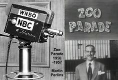 Marlin Perkins got his start in TV as the host of Zoo Parade (1950-1957), a live weekly television program that originated from the Lincoln Park Zoo on NBC station WNBQ-TV when he was the director (1944-1962).