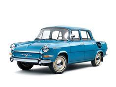 1964–66 Škoda 1000 MB (990) Retro Cars, Vintage Cars, Vintage Auto, Classic Motors, Classic Cars, Europe Car, Car Drawings, Top Cars, Small Cars