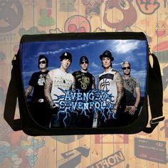 """NEW Custom : Avenged Sevenfold 14"""" Messenger School Laptop Bag By Gift Ideas #06"""