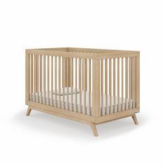 Soho 2-in-1 Convertible Crib - Natural Chic Nursery, Safari Nursery, Nursery Neutral, Nursery Themes, Carnival Nursery, Coastal Nursery, Fishing Nursery, Whimsical Nursery, Monochrome Nursery