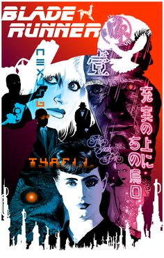 """Blade Runner """"All those moments will be lost in time like tears in rain."""""""