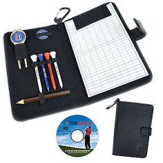 New pga tour #leather golf scorecard #holder & #accessories luxury score card gif,  View more on the LINK: http://www.zeppy.io/product/gb/2/270957899113/