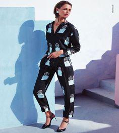 Birgit Kos - Giorgio Armani Spring-Summer 2016 Ad Campaign