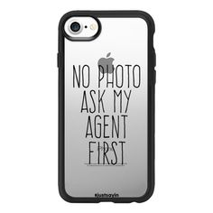 No photo Ask my agent first - iPhone 7 Case And Cover ($40) ❤ liked on Polyvore featuring accessories, tech accessories, iphone case, clear iphone case, iphone cases, iphone cover case and apple iphone case