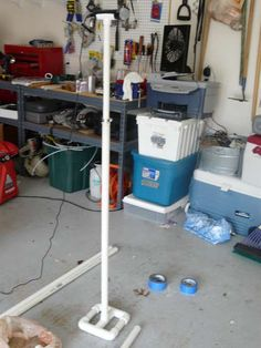 PVC rock band mic stand instructable