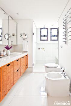 Revista Arquitetura e Construção - 18 banheiros: projetos para todos os gostos e estilos