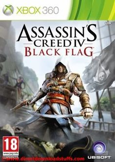 Assassin's Creed IV Poster Assassin's Creed IV: Black Flag is Ubisoft's latest open sea adventure, coming October on XBOX PC & Wii U. Assassin's Creed Black, Assassins Creed Black Flag, Assassins Creed Series, Wii U, Nintendo Wii, Call Of Duty, Deco Gamer, Instant Gaming, Flag Game