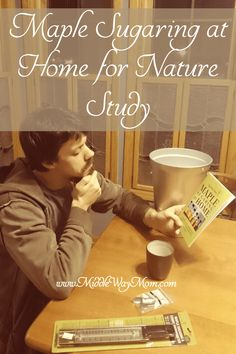 Get ready for backyard nature study by maple sugaring at home! Lessons For Kids, Science Lessons, Hands On Activities, Science Activities, High School Years, Sugaring, Outdoor School, Nature Study, Home Learning