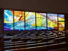 Vidrieras modernas en una iglesia el arte de la luz - Vidrieras modernas ...