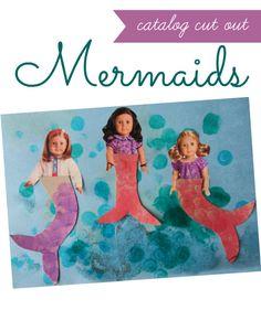 mermaid craft for kids