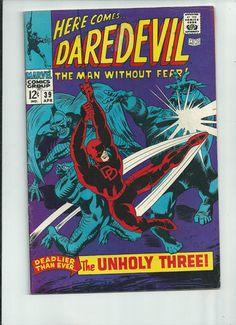 DAREDEVIL #39 Silver Age gem! 1st Exterminator (Later Death-Stalker). ~7.0~ http://r.ebay.com/YgsvjW
