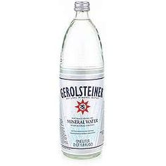 Gerolsteiner Mineral Water major elements magnesium and calcium make it especially salubrious. The high hydrogen carbonate content gives it its fresh flavor.