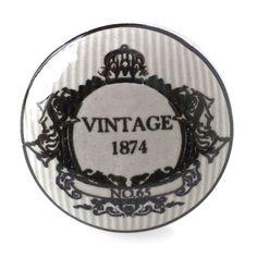 Bouton de Meuble Vintage 1874