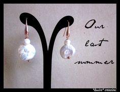 freshwater pearls in copper mood by AmiraCreazioni