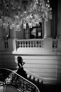 """Magnifiques photos qui nous transportent dans un monde féérique  """"Chateau Baccarat"""""""