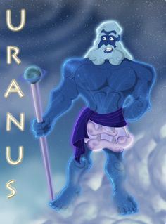 Ouranos: Father Heavens himself. Father of Kronos and the titans