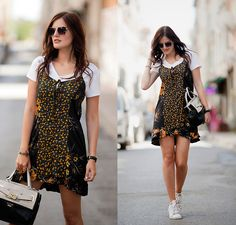 Beautiful, inspirational and creative images from Piccsy. Gypsy Dresses, Guess Bags, Short Sleeve Dresses, Mini Dresses, Sporty, Fancy, Street Style, Outfits, Shirt Dress