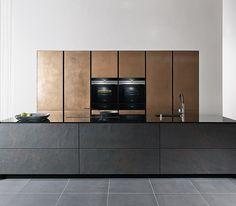 Forum Stone Schiefer + Metal-X Bronze | zeyko Küchen