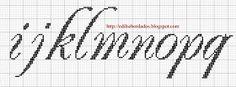 """Oiieee!!!  Para fazer este monograma usei a fonte chamada """"renaissance"""".  Amadas, para informações ou dúvidas, deixem seus emails nos coment..."""