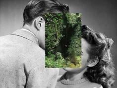 kiss, nature, and art image