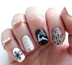 Stunning Christmas nail arts you should check right now! <3