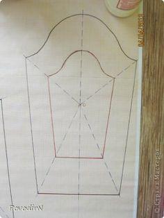 Как сделать выкройку для валяния жилета