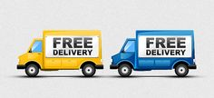 Free Delivery Icons - 365psd