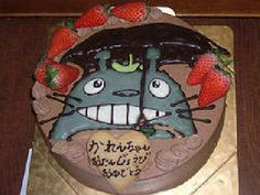 Cakes of stuff and totoro #6
