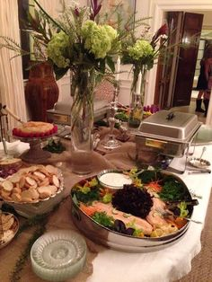 Elegance and terrific food, that's what ALACARTE CATERING is all about!  #food #wedding #atlantawedding #atlantacatering #foodideas #cateringideas #weddingideas #entertaining #fingerfoods #catering #atlantavenues #entertainment #partyideas #catering.....foodpresentation  #buffettables