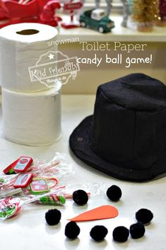 fcdff514d7f Toilet Paper Candy Ball - A Christmas Party Game for Groups to play. Unwrap  the