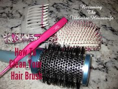 Becoming the Ultimate Housewife: How to Clean & Disinfect your Brush