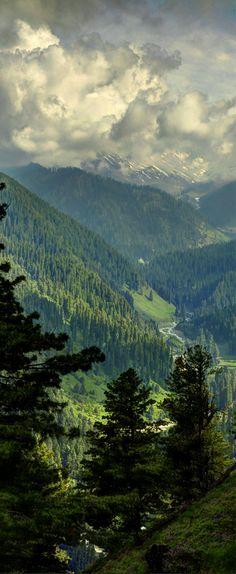 Pir Panjal Peaks, Gulmarg, Kashmir, India