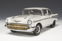 Highway 61 1957 Chevrolet Bel Air Street Machine Drag Car diecast car
