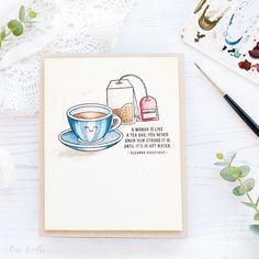 A Woman Is Like A Tea Bag! SSS February 2017 Card Kit