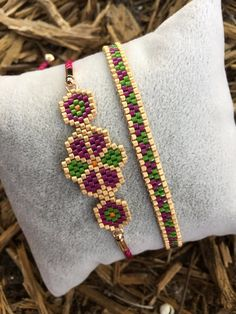 Excited to share the latest addition to my shop: Miyuki Bracelet Set, Hand. - Excited to share the latest addition to my shop: Miyuki Bracelet Set, Handcrafted Bracelet, - Beaded Bracelets Tutorial, Bead Loom Bracelets, Handmade Bracelets, Handcrafted Jewelry, Bracelet Set, Silver Bracelets, Jewelry Bracelets, Embroidery Bracelets, Bracelet Charms