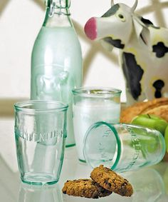 Another great find on #zulily! Euro Milk Glass - Set of Six #zulilyfinds