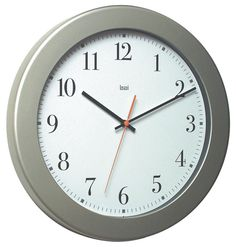 "14.5"" Madison Modern Wall Clock"