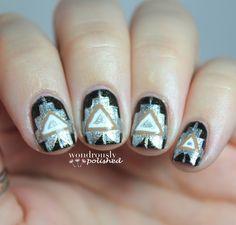 31 Day Nail Art Challenge - Day 9: Metallic