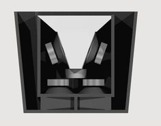 The design of a line array speaker cabinet which is versotile and cheap.
