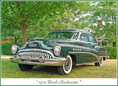 1953 Buick Roadmaster  look at that grill !