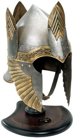 Helmet of Isildur from Lord of the Rings