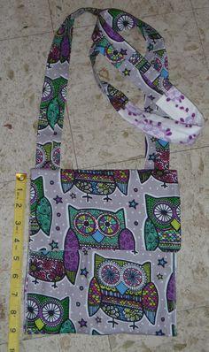 Cate's Closet & Clutter Handmade Owl Crossover Bag $12, $6 to ship https://www.facebook.com/catescloset1?ref=bookmarks
